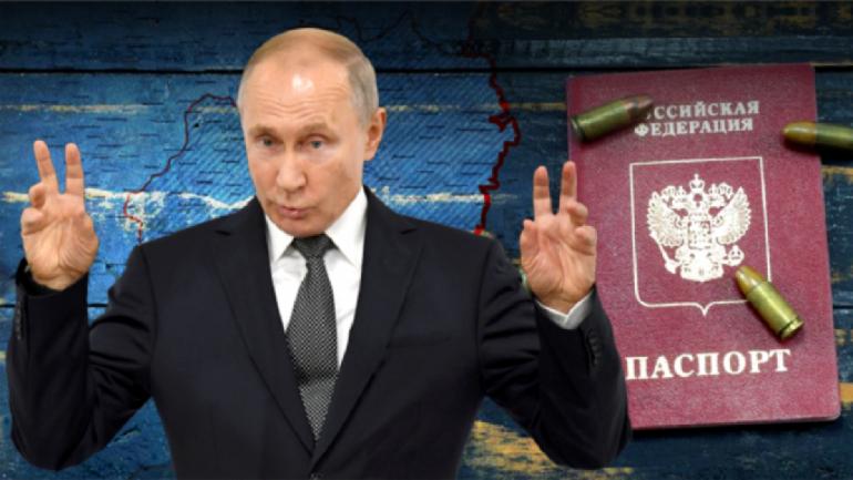 """Боевики """"ДНР"""" заставляли украинцев голосовать за поправки Путина - фото 1"""