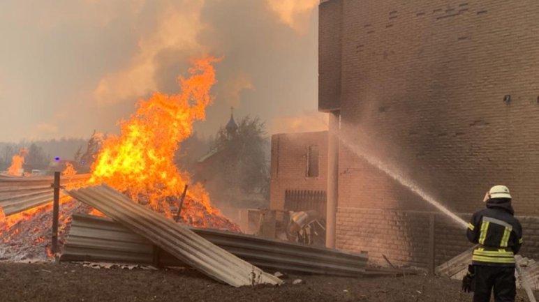 Пожары на Луганщине: Полиция рассматривает три версии ЧП - фото 1
