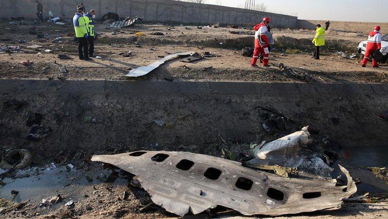 """В Иране пояснили крушение рейса PS752 чередой """"случайностей"""" - фото 1"""