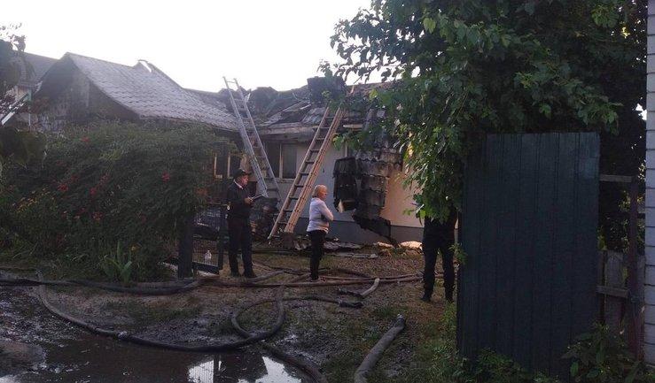 Пожарные успели потушить возгорание - фото 1