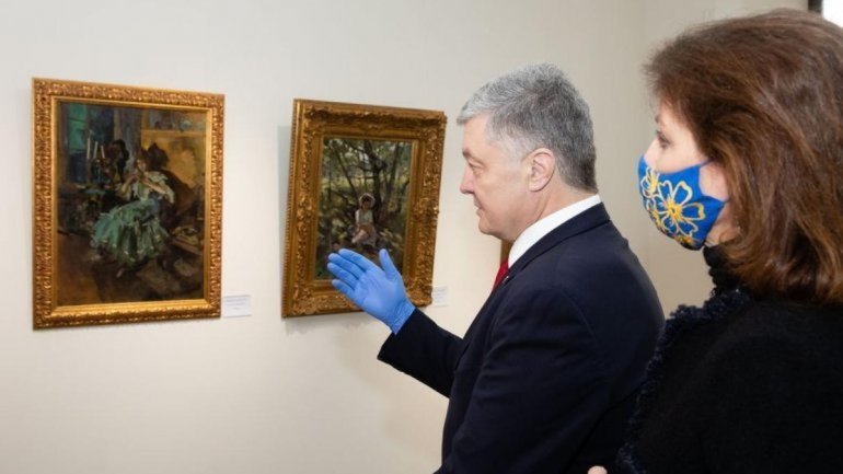 Суд отменил арест картин Порошенко - фото 1