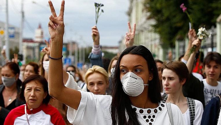 Сутки в Минске прошли практически без насилия - фото 1