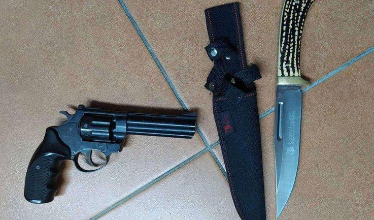 У украинца якобы изъяли оружие - фото 1