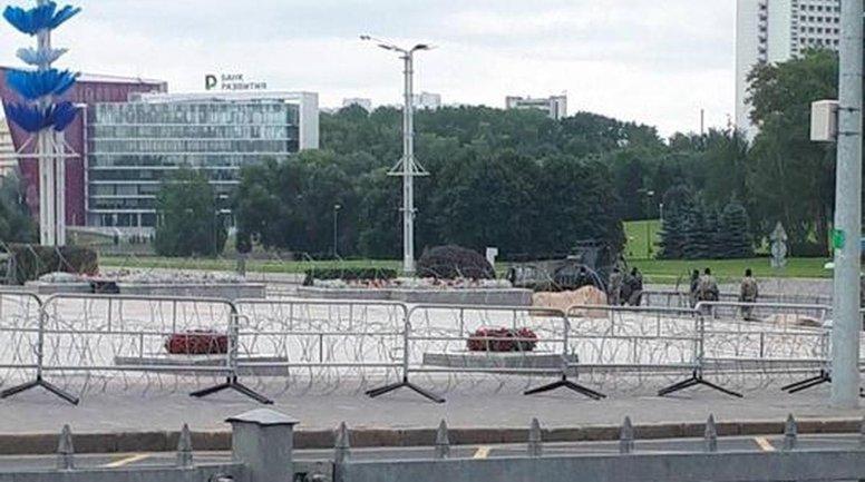 Режим Лукашенко готовится противодействовать митингующим - фото 1