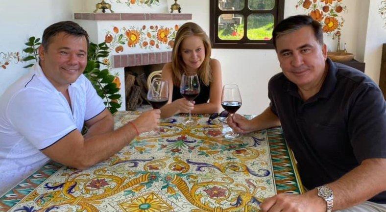 Саакашвили рассказал о политическом союзе с Андреем Богданом - фото 1