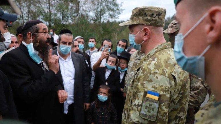 Хасиды хотят прорваться в Украину - фото 1
