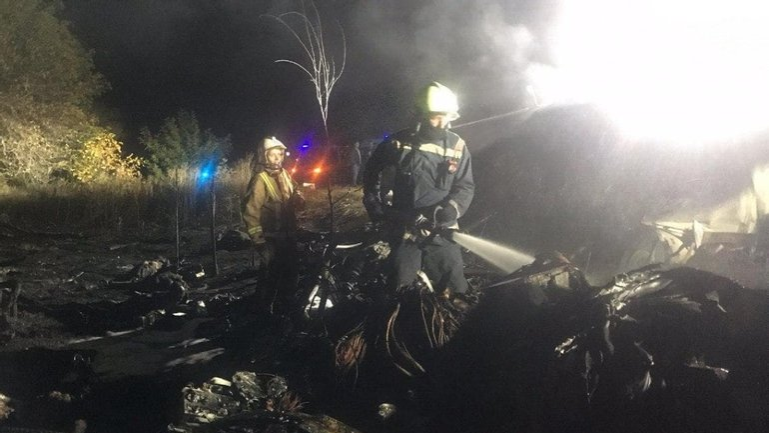 Спасатели завершили работы на месте крушения Ан-26 - фото 1
