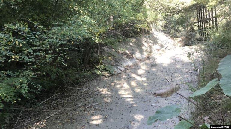 В Крыму пересохла очередная река, местные вопят от жажды — фото 1