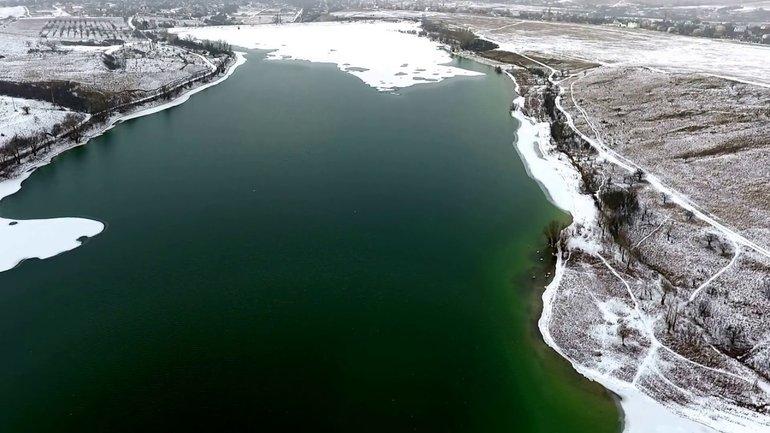 До оккупации Аянское водохранилище выглядело вот так - фото 1