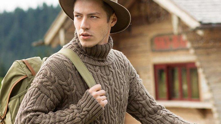 Мужской свитер - основа стильного и модного гардероба - фото 1