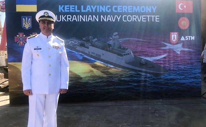 У Туреччині відбулася церемонія закладки корвета для українських ВМС - фото 1